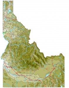 Idaho-contour-map-958